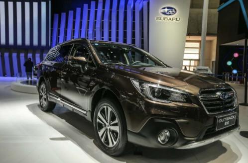 斯巴鲁北京车展发布智能水平对置发动机TM 并推出60周年纪念版车型