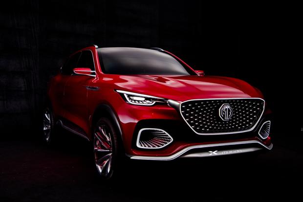 MG X-motion Concept于北京车展全球首秀