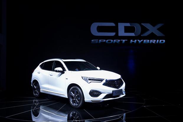 广汽Acura CDX SPORT HYBRID上市,售价29.98万-35.28万元