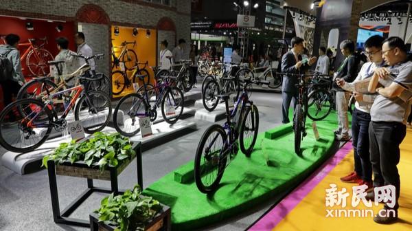 国际自行车展登陆上海