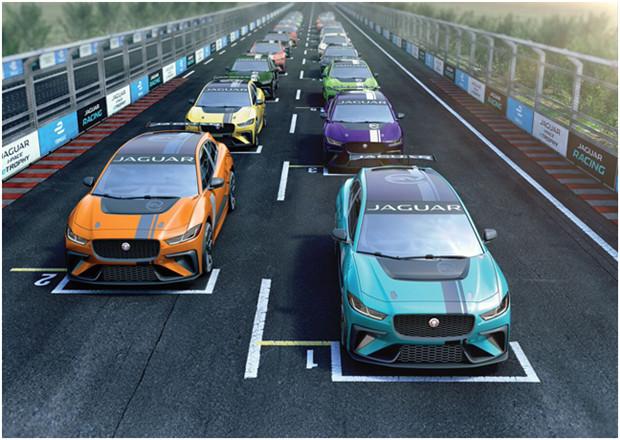 捷豹I-PACE杯纯电动车赛车将首秀Formula E