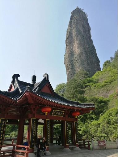 鼎湖峰:仙人荟萃之地!