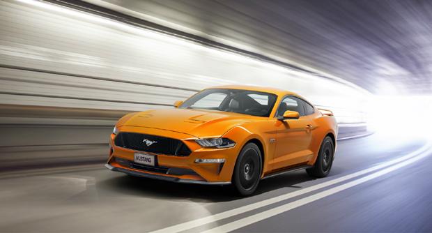 传奇肌肉跑车新福特Mustang重装升级上市