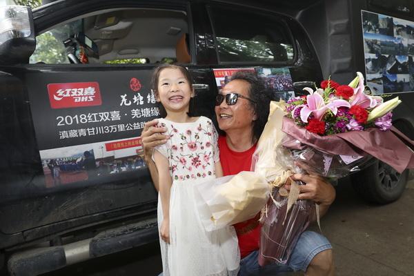 2018 红双喜 羌塘缘 滇藏青甘川3万里体育公益助学行