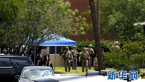 美得州再现校园枪击案  17岁枪手大屠杀致10死10伤