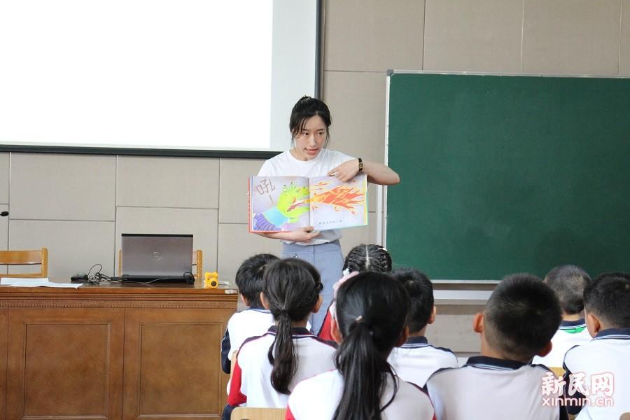 联建小学进行阅读课程展示活动