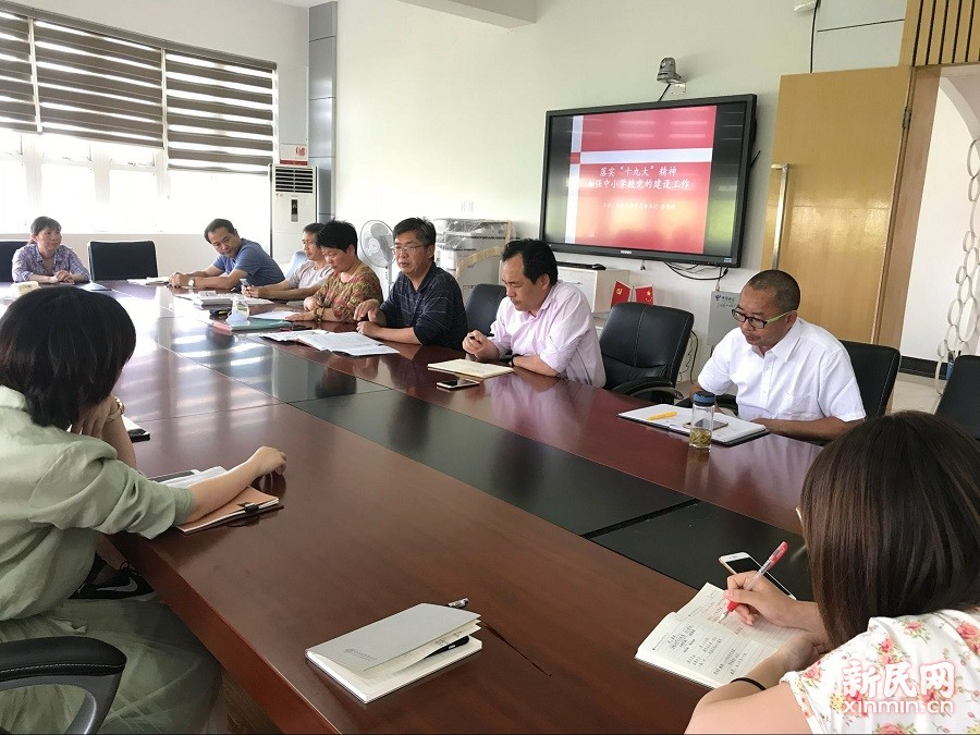 朱泾小学:落实十九大精神,加强学校党的建设