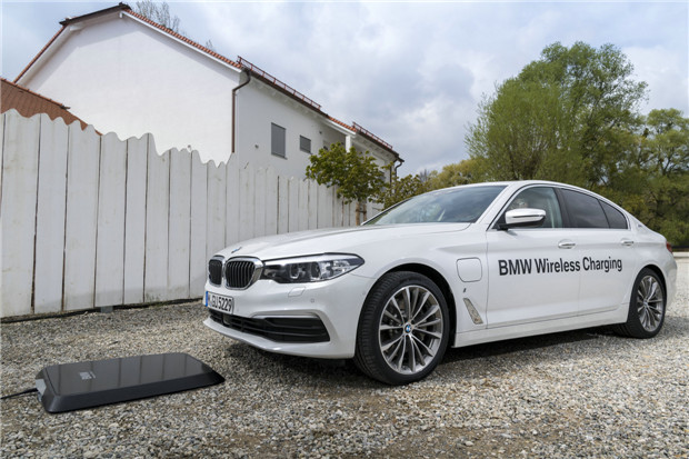 宝马推出世界首创BMW无线充电