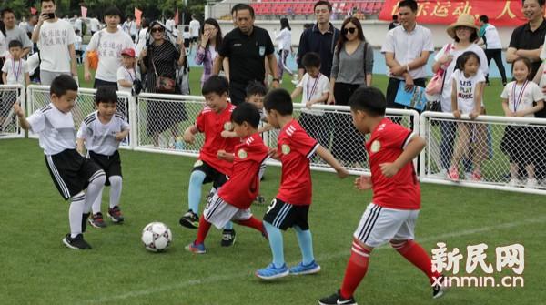 幼儿足球嘉年华体验运动快乐