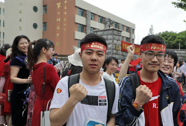 今天上海人的朋友圈被高考刷屏了!