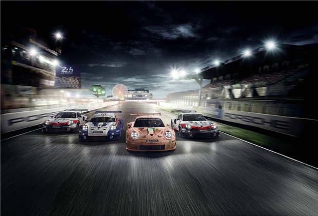 特别版保时捷 911 RSR 将征战勒芒耐力赛
