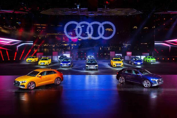 奥迪Q8全球首发2018奥迪品牌峰会
