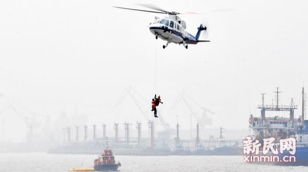 华东地区航空器搜救联合演练举行