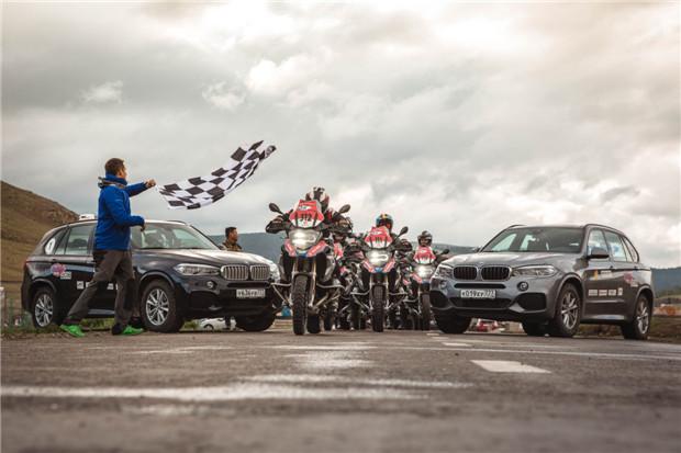 BMW摩托车GS Trophy 2018国际挑战赛燃情开战