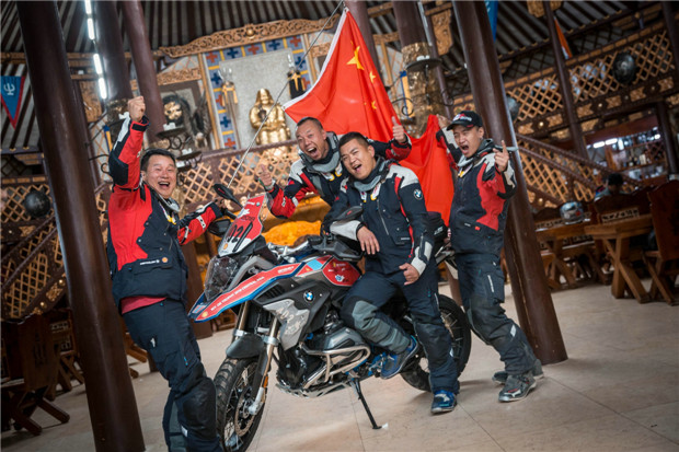 BMW摩托车GS Trophy2018国际挑战赛热袭中亚
