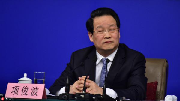 受贿1942万余元,原中国保监会主席项俊波受贿案一审开庭