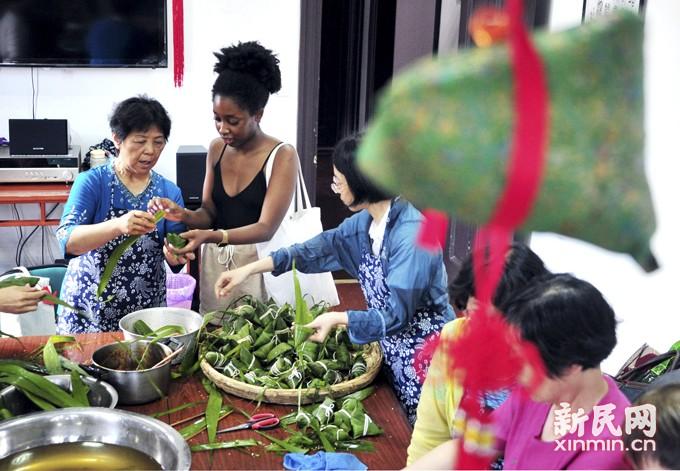 端午粽飘香·社区情更浓