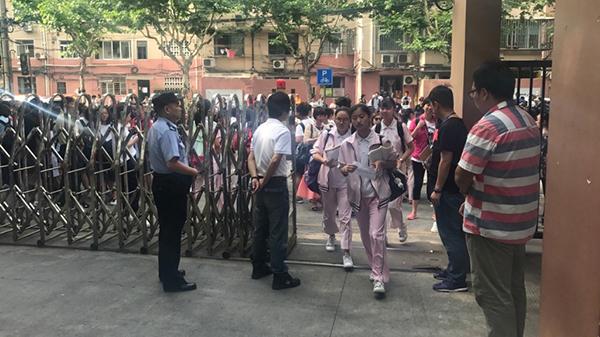 中考邂逅端午小长假 上海警方开启护考模式