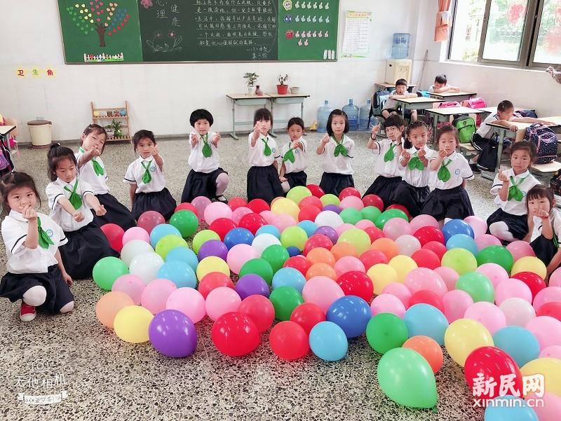钱圩小学:歌声乐童年,快乐共成长