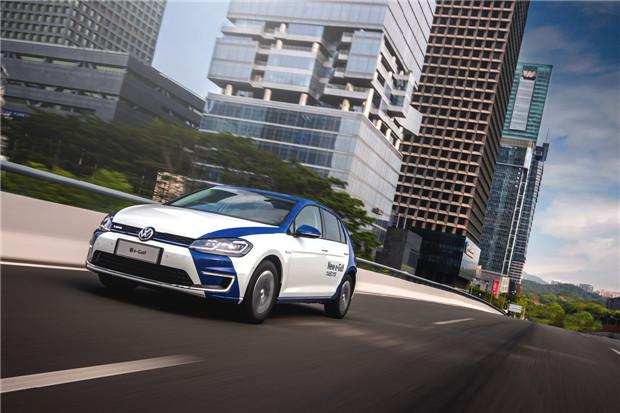 揭秘新e-Golf的动力与充电系统