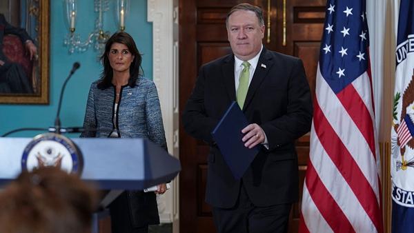 """为小弟撑腰再""""退群"""" 美国宣布退出联合国人权理事会"""