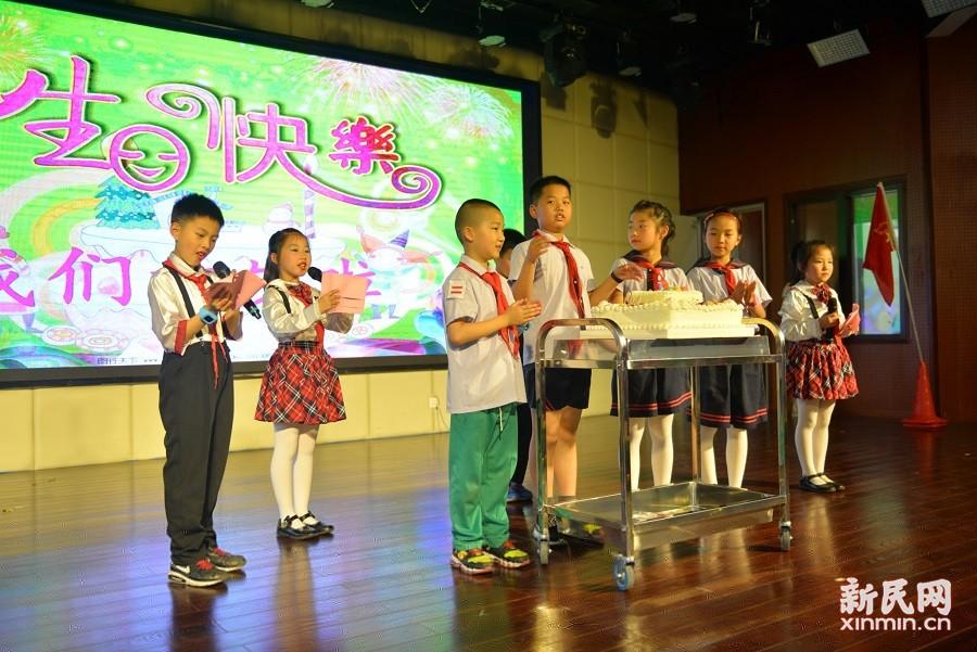 张堰小学2018三年级十岁生日主题活动举行