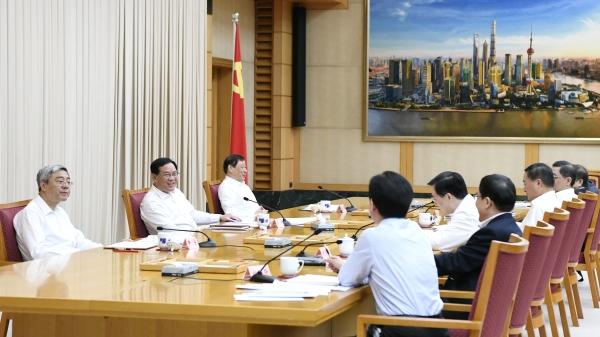 """李强首次以这个组长身份主持召开会议,上海科创中心建设要突出""""三个聚力"""""""