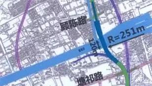 沟通三区 宝山陆翔路-祁连山路道路贯通工程初步设计已获批复