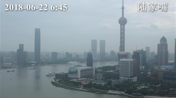 上海今阴转雨 局部有中到大雨 最高温25℃