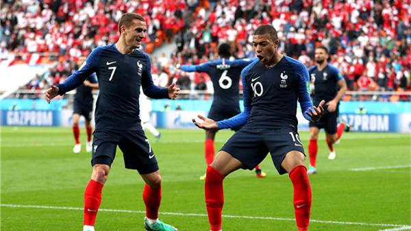 下一个金球奖先生在这里?19岁的姆巴佩打破法国队最年轻进球纪录