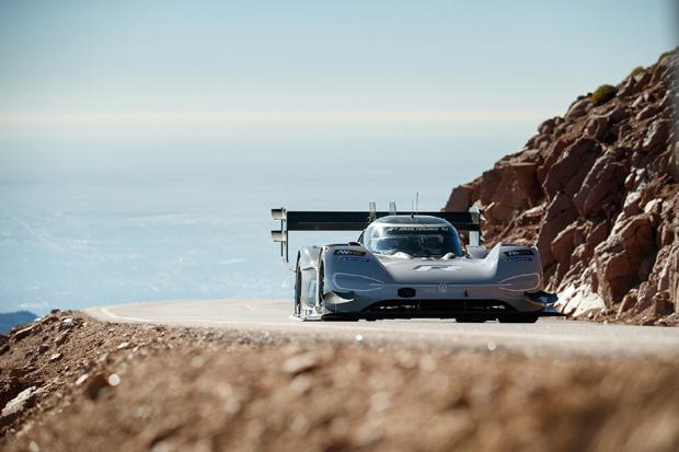 大众纯电动赛车派克峰挑战赛夺冠史上最快