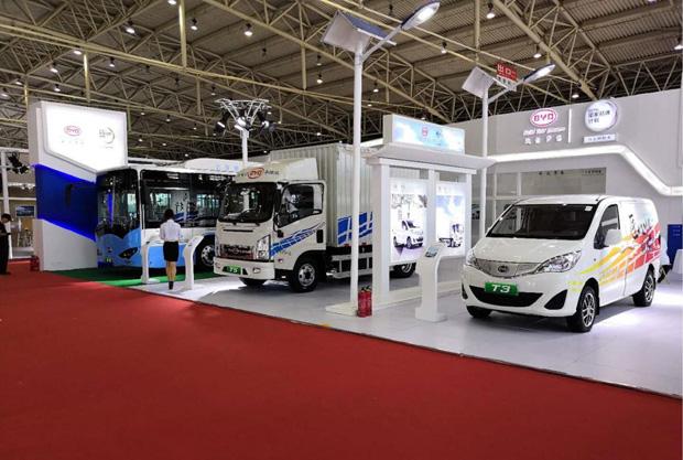 比亚迪商用车亮相国际电动车技术展