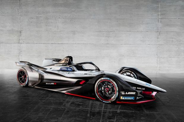 日产全电动赛车将出战新赛季Formula E