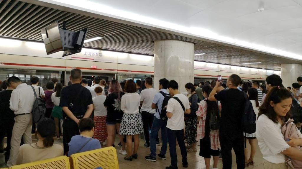 今早高峰上海地铁1号线车辆故障 现已排除 运营逐步恢复