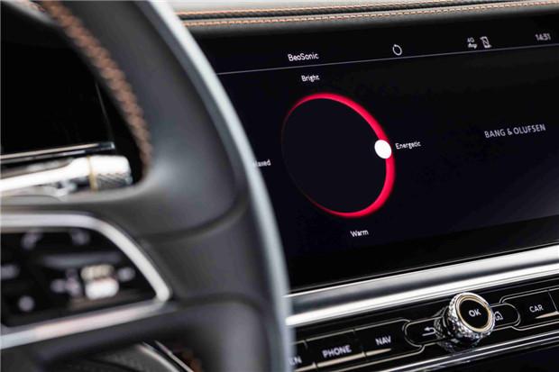 宾利汽车携手B&O品牌打造首个车载BeoSonic音响系统