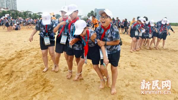 2018年上海少年儿童海防夏令营开营