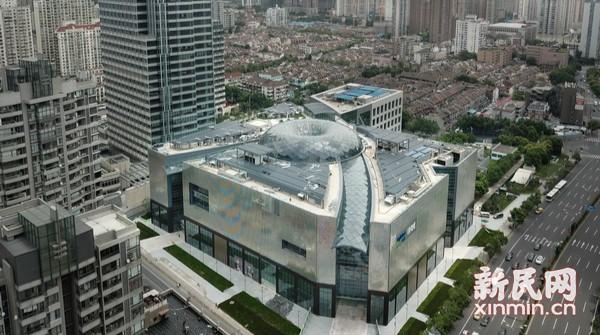 中心城区新地标 引领申城商圈颜值新高度