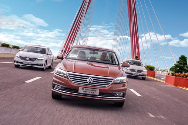 野心,不止在A+级家轿 ——试驾上汽大众全新一代朗逸