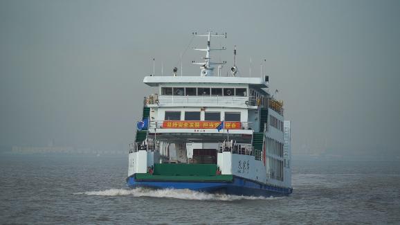 十分上海 | 每天80多个班次横跨长江,这条渡轮写满乡愁……