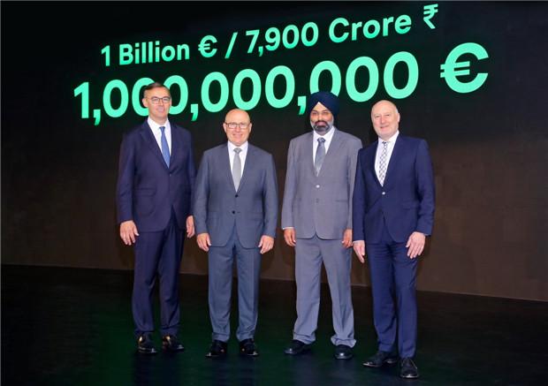 大众集团向印度2.0计划投资10亿欧元