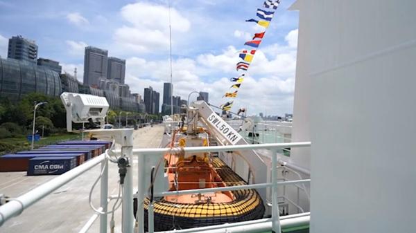 尝视 | 登上这艘国内规模最大装备最先进的海事公务船是种怎样的体验?