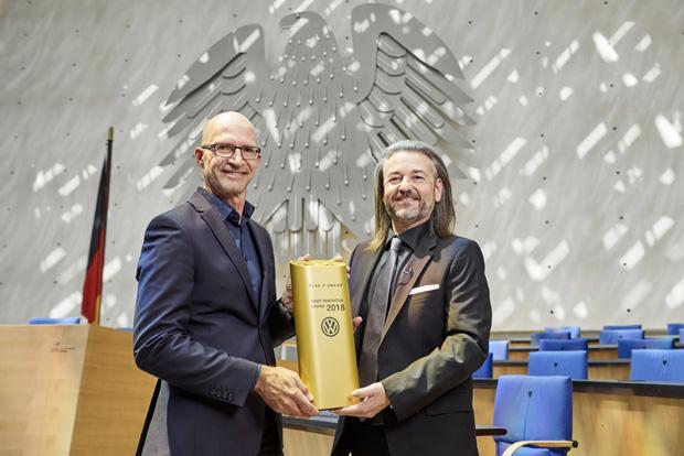 大众汽车品牌连续三年荣获欧洲创新技术奖