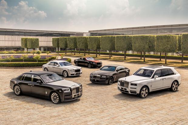 劳斯莱斯汽车上半年全球销量增长13%