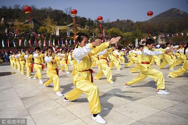 第三届中国太极好少年大赛举行 将每年举办一届