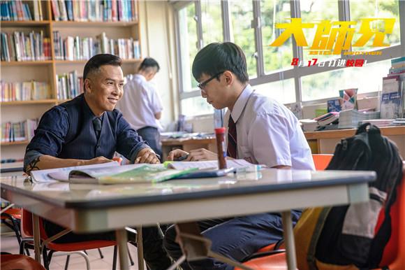 甄子丹挑战用拳头教书,王晶:他教好了坏学生也救回了自己