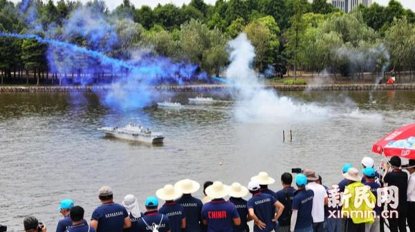 全国青少年航海模型锦标赛在沪开赛