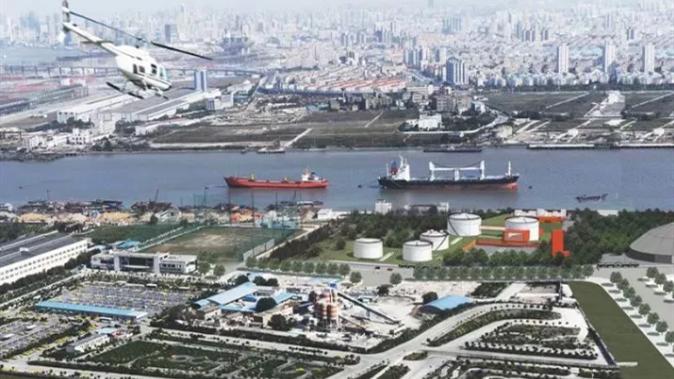 徐汇滨江将添新地标!5个巨大的油罐明年3月华丽变身!
