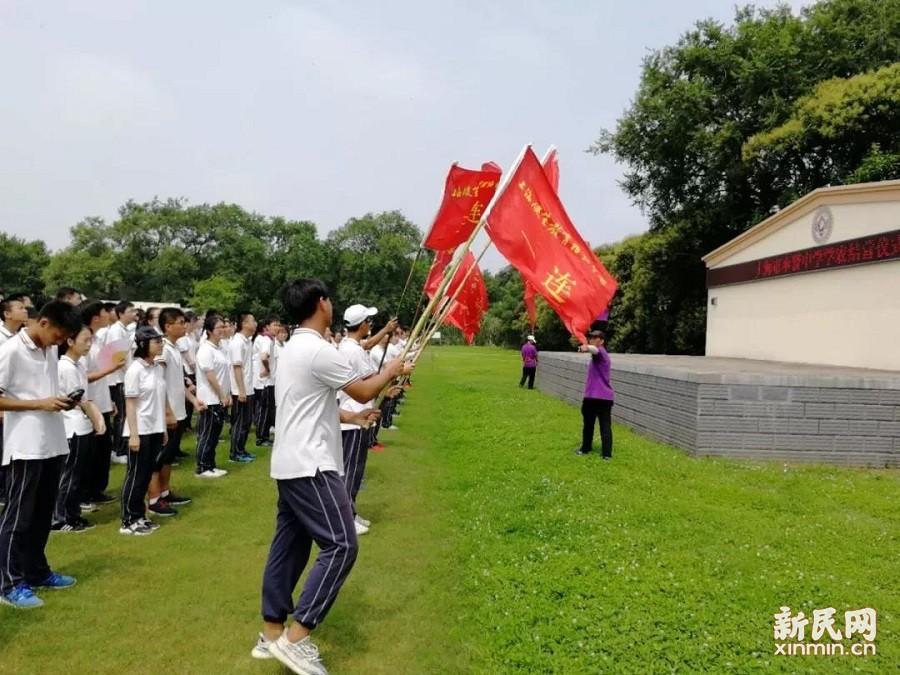 奉贤中学高二年级学农活动圆满落幕