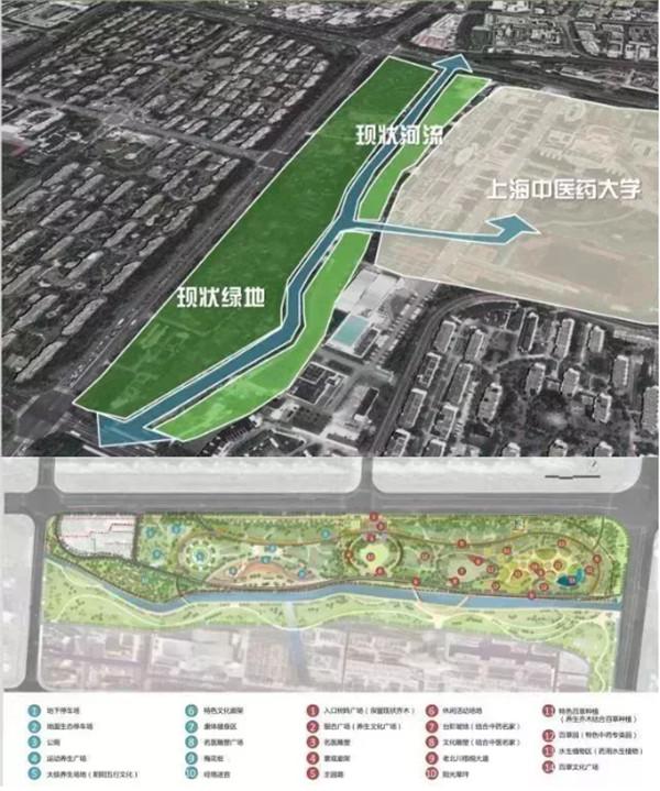 """张江将新增一个传统与新科技结合的""""百草园"""",总面积达46500㎡,期待吗?"""