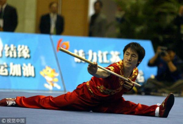 奥运棍王赵庆建等出席加州武术赛